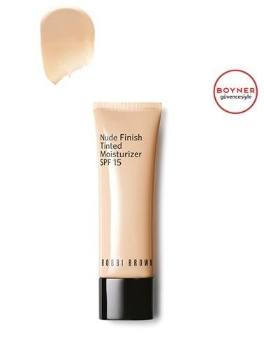 Bobbi Brown Bobbi Brown Nude Finish Tinted Moisturizer SPF 15 Alabaster  Tint Nemlendirici Renksiz